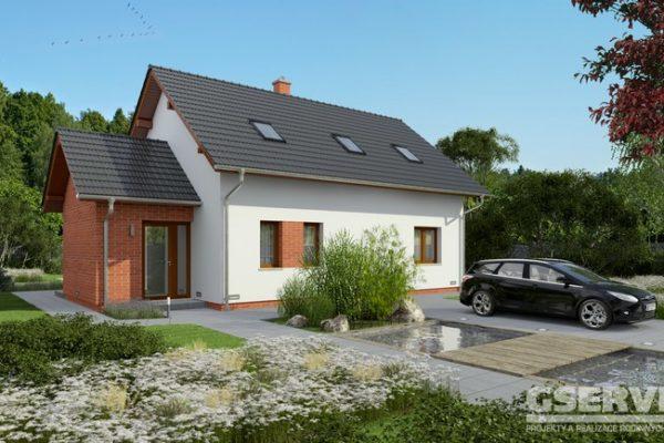 Projekt domu - Akát 2