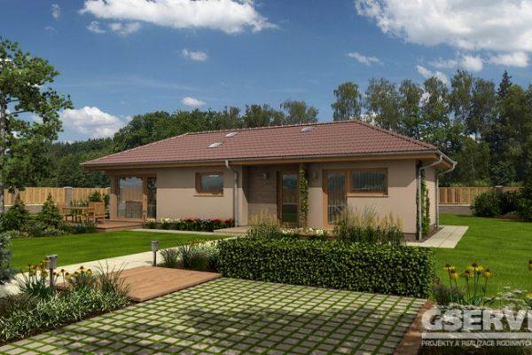 Projekt domu - Alegro A