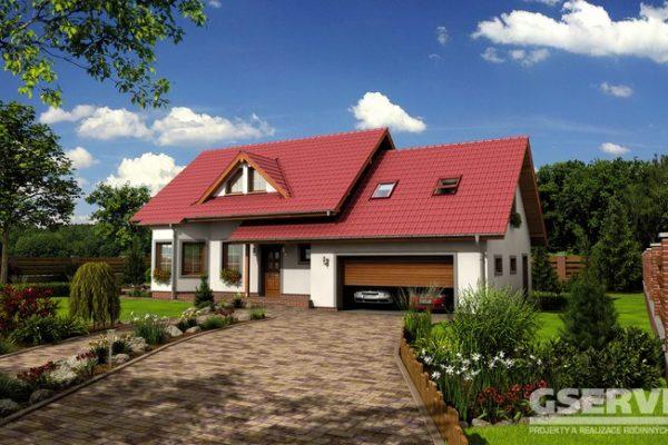 Projekt domu - Alfa 1 Plus