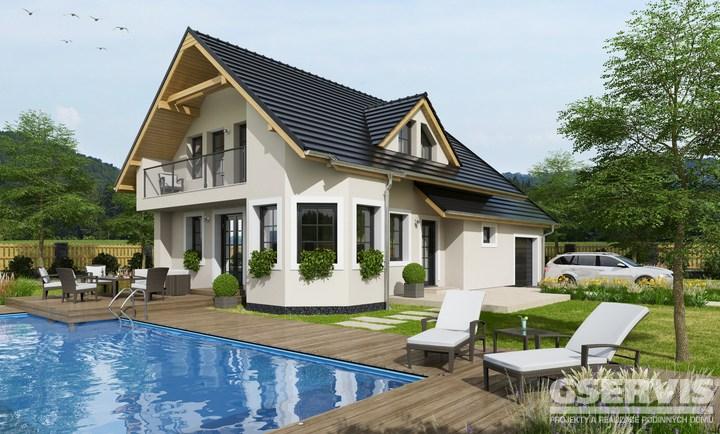 Projekt domu - Alfa 3 Plus