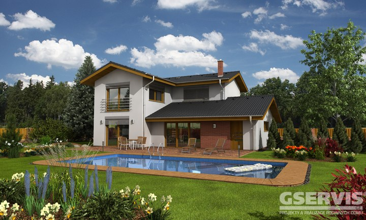 Projekt domu - Amfora