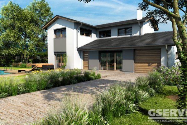 Projekt domu - Amfora 2