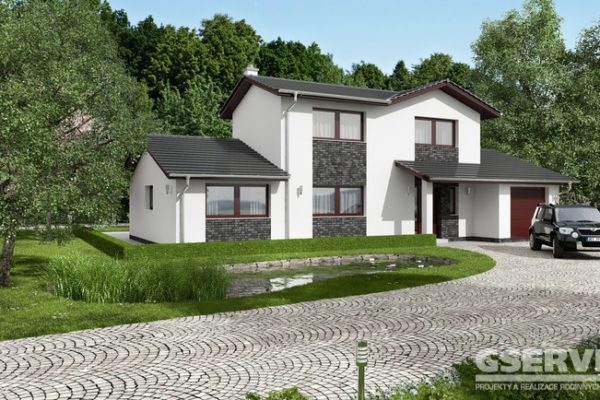 Projekt domu - Amfora 3