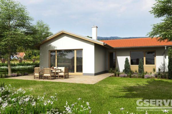 Projekt domu - Basanti 3S