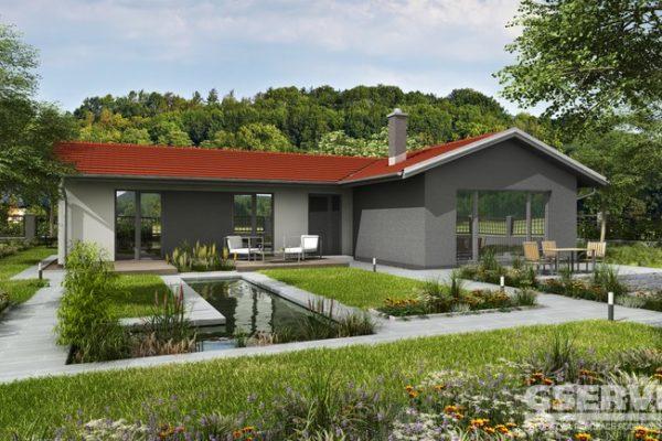 Projekt domu - Basanti 4J