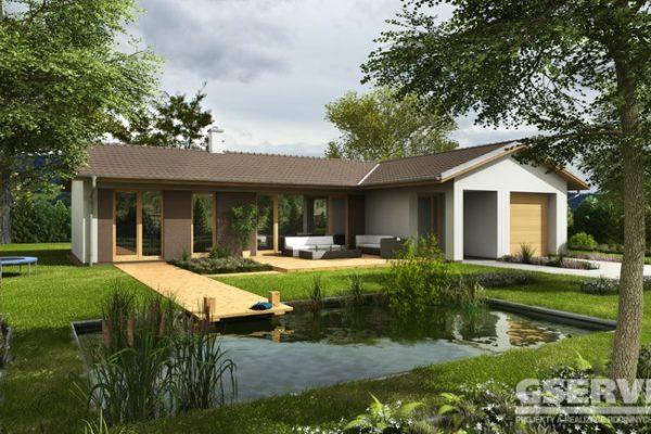 Projekt domu - Basanti 4J Plus