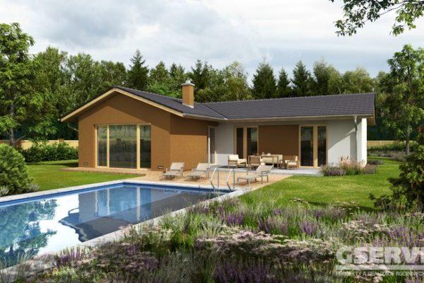 Projekt domu - Basanti 4S