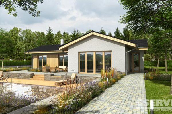 Projekt domu - Basanti 5J