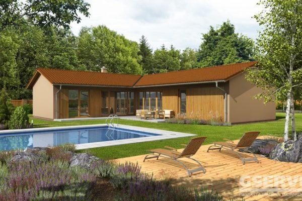 Projekt domu - Basanti 5S