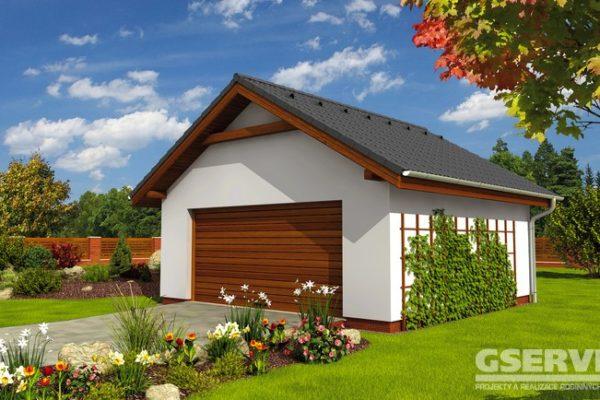 Projekt domu - Dvougaráž 2G 6