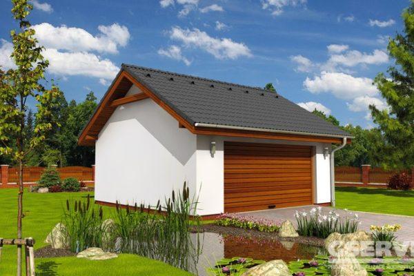 Projekt domu - Dvougaráž 2G 7