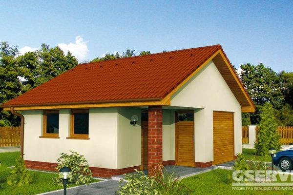 Projekt domu - Garáž 2G 2
