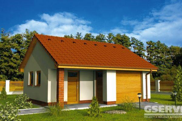Projekt domu - Garáž 2G 4