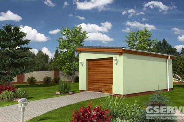 Projekt domu - Garáž G2