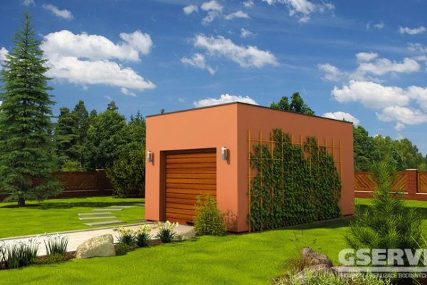 Projekt domu - Garáž G3
