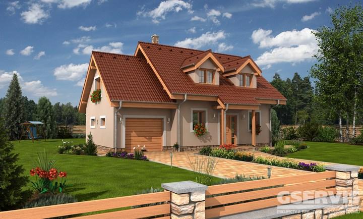 Projekt domu - Hit 2 Plus