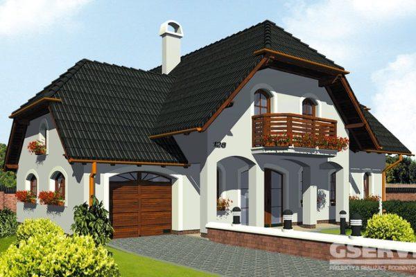 Projekt domu - Klassik 128