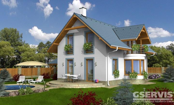 Projekt domu - Milenium 233