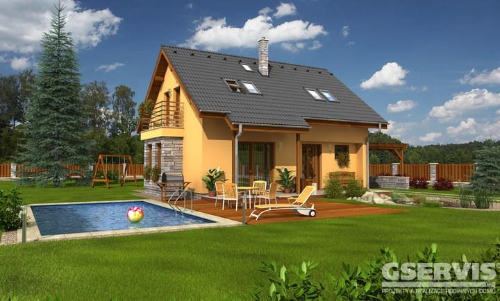 Projekt domu - Nero