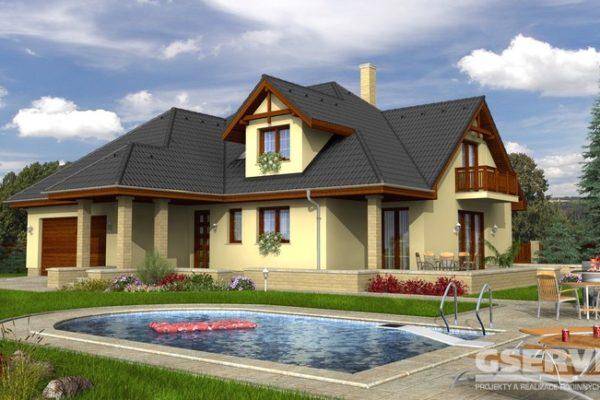 Projekt domu - Paris