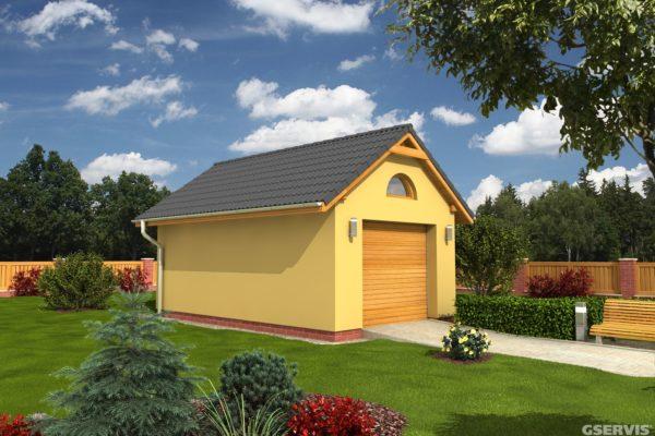 Projekt domu - Garáž G1