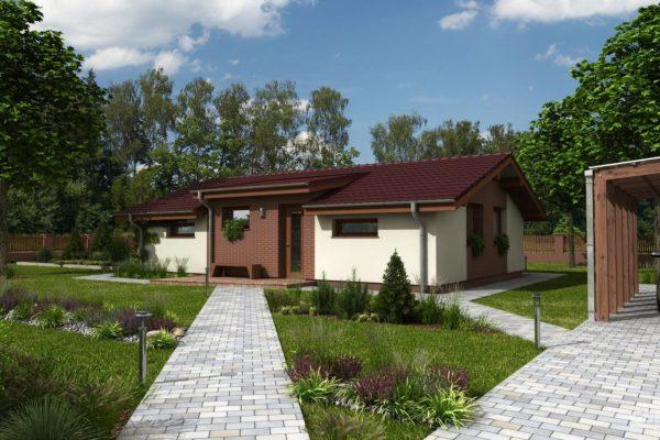 Postavený dům - RD Talon – prodloužený