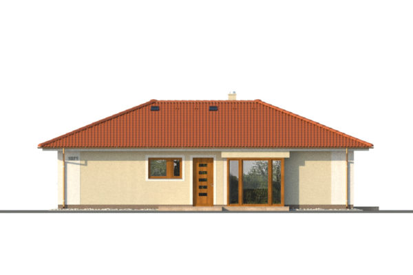 Projekt domu - Bungalov 1071