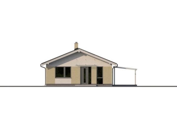 Projekt domu - Bungalov-s 1410