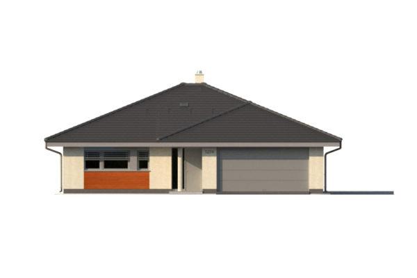 Projekt domu - Bungalov 1274