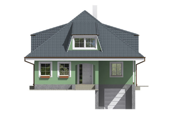 Projekt domu - Bungalov 082