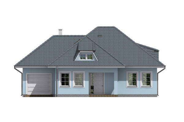 Projekt domu - Bungalov 080