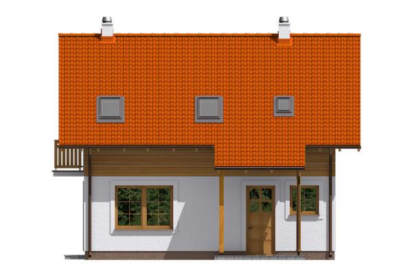 Projekt domu - Aktual 522