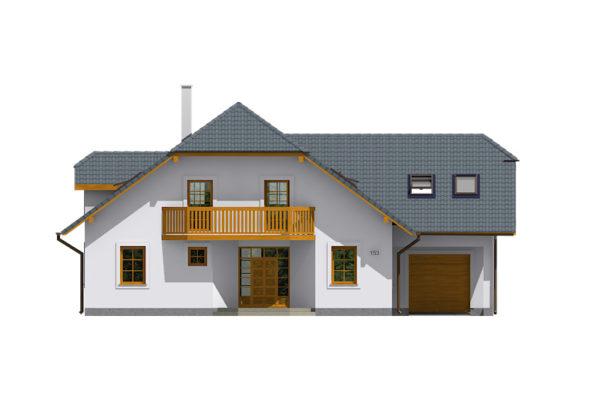 Projekt domu - Klasik 153