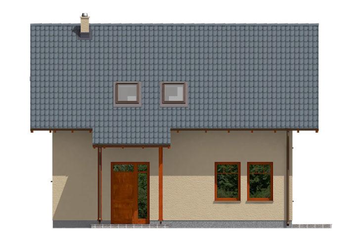 Projekt domu - Aktual 026