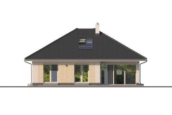 Projekt domu - Bungalov 1283