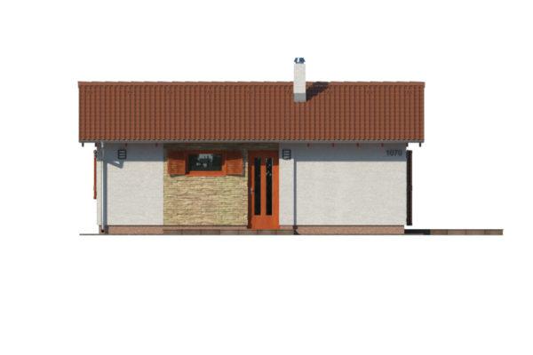 Projekt domu - Bungalov 1070
