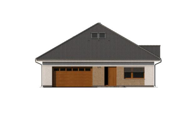 Projekt domu - Bungalov 1276