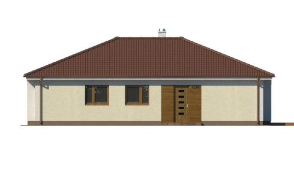 Projekt domu - Bungalov 1074