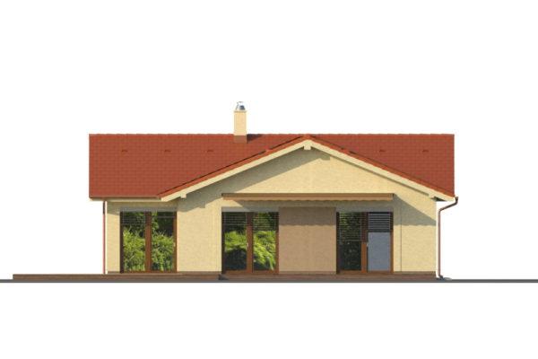 Projekt domu - Bungalov 1281