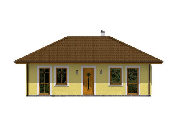 Projekt domu - Bungalov 065