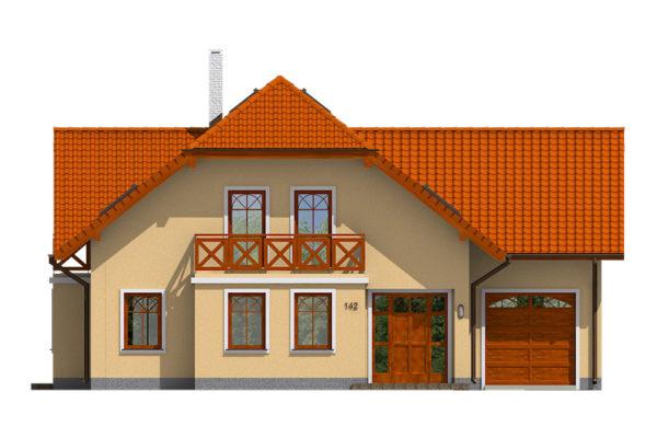 Projekt domu - Klasik 142