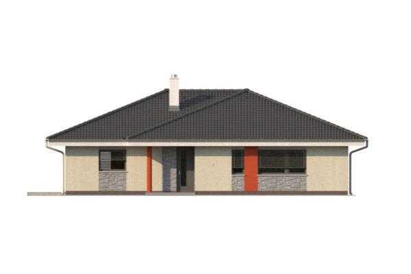 Projekt domu - Bungalov 1250