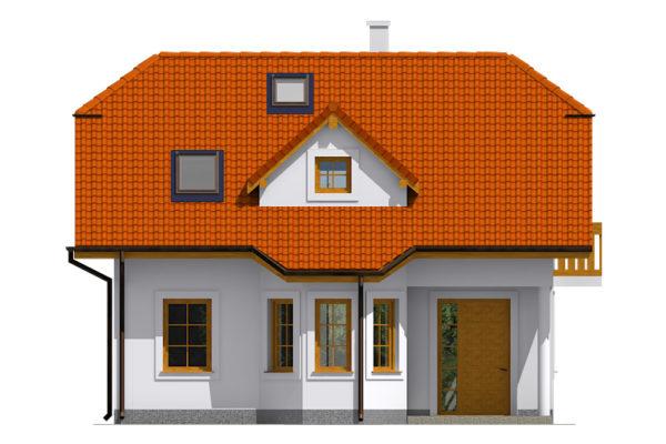 Projekt domu - Aktual 033