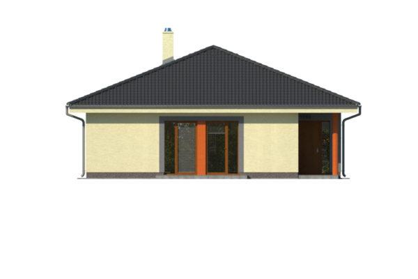 Projekt domu - Bungalov 1080