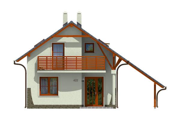 Projekt domu - Aktual 422