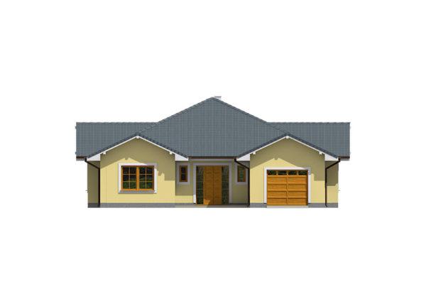Projekt domu - Bungalov 100