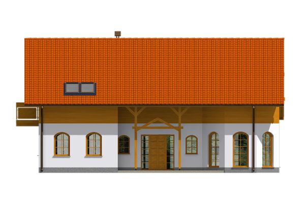 Projekt domu - Klasik 155