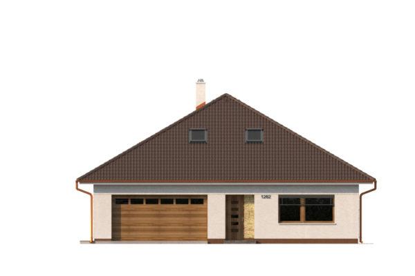 Projekt domu - Bungalov 1282