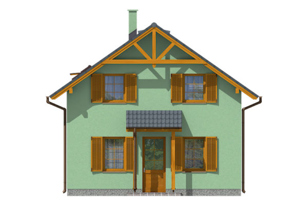 Projekt domu - Aktual 421