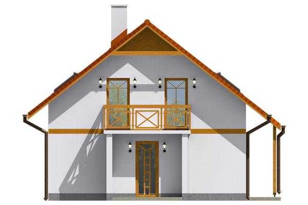 Projekt domu - Aktual 028